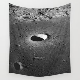 Apollo 10 - Moltke Moon Crater Wall Tapestry