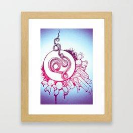 Snake Spirit Framed Art Print