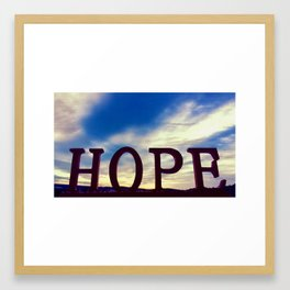 """""""Never lose hope, my heart, miracles dwell in the invisible."""" ~ Rumi Framed Art Print"""