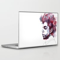 prince Laptop & iPad Skins featuring Prince by Allison Kunath