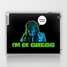 Old Gregg Laptop & iPad Skin