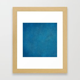 blue_logo Framed Art Print