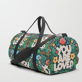 you are loved - color garden Duffle Bag