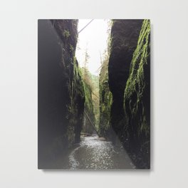 Oneonta Gorge, Oregon Metal Print
