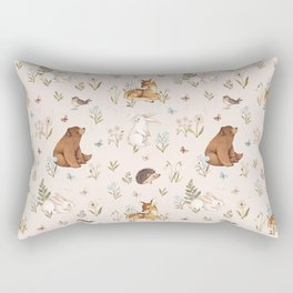 Blooming Meadow Rectangular Pillow