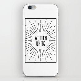 Women Unite iPhone Skin