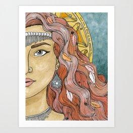 Esther Art Print