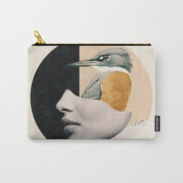 collage art / bird Carry-All Pouch