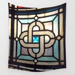 Sapphire Link Wall Tapestry