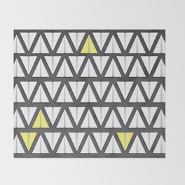 Paper Airplane Throw Blanket