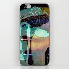 Turquise 0407 iPhone Skin