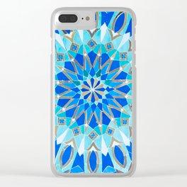 Moroccan Tile - Zellige II Cobalt Clear iPhone Case