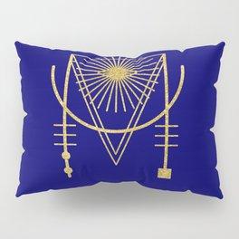 Sacred Geometry Letter M Pillow Sham