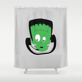 Frankenstein (aka Frankie) gammer Shower Curtain