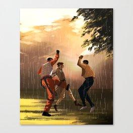 Rey's First Rain Canvas Print