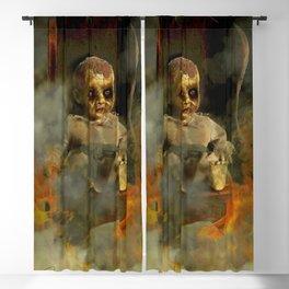 HELL'S NURSERY Blackout Curtain