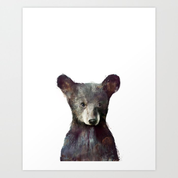 Discover the motif LITTLE BEAR by Amy Hamilton as a print at TOPPOSTER