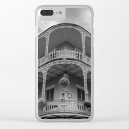 New Orleans Architecture Clear iPhone Case