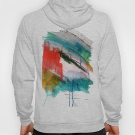 Happiness - a bright abstract piece Hoody