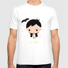 Kawaii Dracula Mens Fitted Tee SMALL White