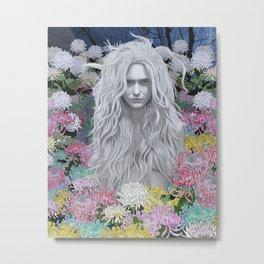 Fade to Grey Metal Print