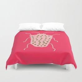 Arthropods hot pink Duvet Cover