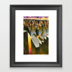 Yonge and Davisville Framed Art Print