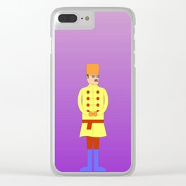 The Russian (I) Clear iPhone Case
