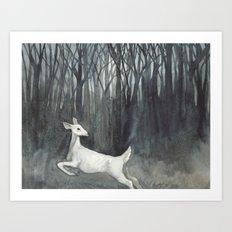 Ghost Doe Art Print