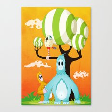 Loky's Fear Canvas Print