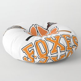 Palmetto State Foxes Exy Crest Floor Pillow