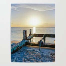 Lonely Dock-Providenciales, Turks & Caicos Poster