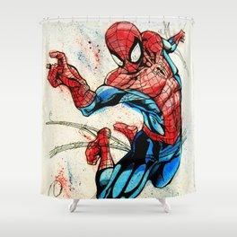 Web-Slinger Spider-Man Shower Curtain