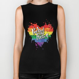 Couple Matching T-Shirt Locked My Heart Pride LGBT Shirts Biker Tank
