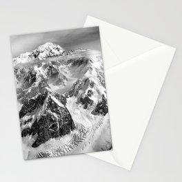 Denali Massif from the Air - Denali & Foraker Stationery Cards