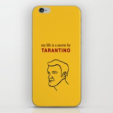 My life is a movie by Tarantino iPhone & iPod Skin