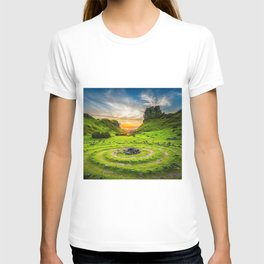 Fairytale Landscape, Isle of Skye, Scotland T-shirt