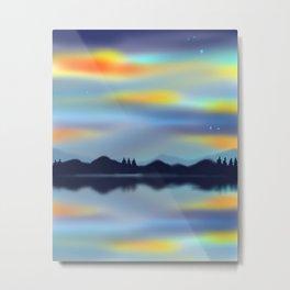 Sky Glow Metal Print