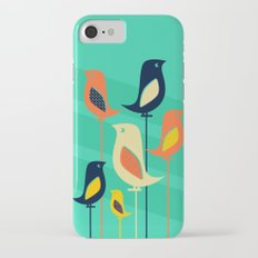 Mid Century Birds iPhone 7 Slim Case