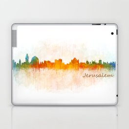 Jerusalem City Skyline Hq v3 Laptop & iPad Skin
