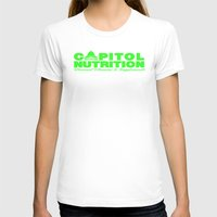 lime green T-shirts featuring Capitol Lime Green by Capitol Nutrition