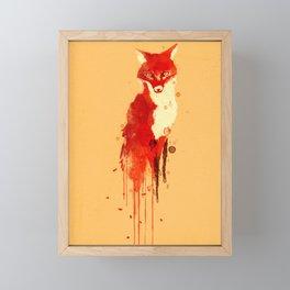 The fox, the forest spirit Framed Mini Art Print