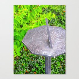 Sundial Canvas Print