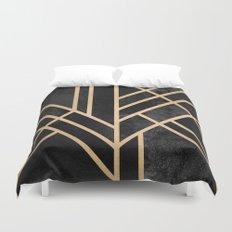 Art Deco Black Duvet Cover
