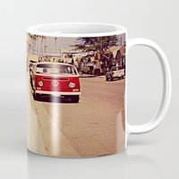 vw bus Mugs featuring VW BUS by INEVITABLE 27