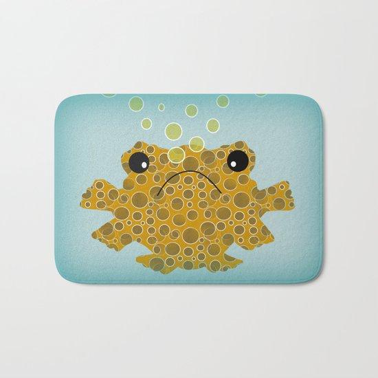 Bubbles The Fish Bath Mat