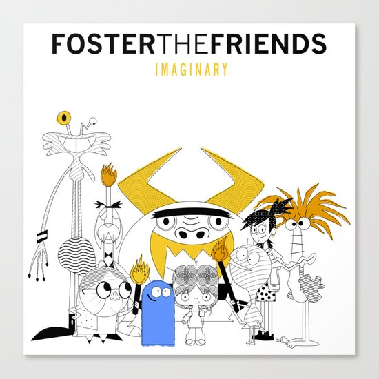 Foster the Friends Canvas Print