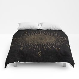 Astronomy Symbols Comforters