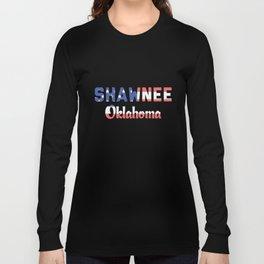 Shawnee Oklahoma Long Sleeve T-shirt