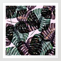 leaf Art Prints featuring Leaf by Burcu Korkmazyurek